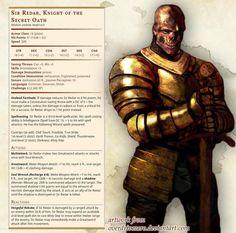 Sir Redar, Knight of the Secret Oath