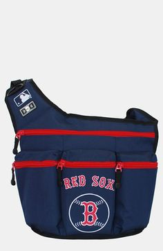 Diaper Dude 'Boston Red Sox' Messenger Diaper Bag available at #Nordstrom