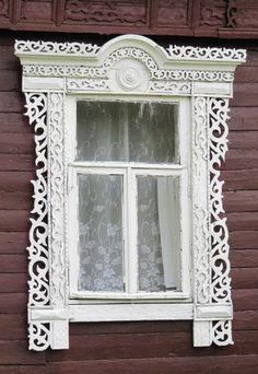 Какая ажурная резьба!!!  Woodwork (Russia)