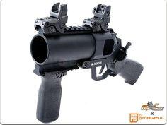 EAC x Ultra Force MAGPUL Custom Pistol Grenade Launcher (Black) w/ Aluminum Case