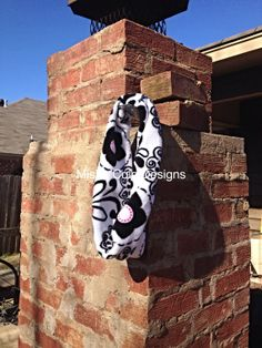 Infant Toddler Infinity Scarf Black and White by mishacoledesigns, $7.00