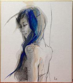 a rough sketch -Izumi Kogahara-