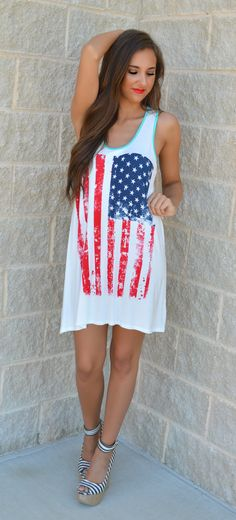 Party In The USA Flag Tunic
