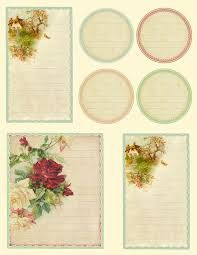 Image result for vintage journal cards