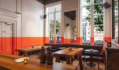Concrete, Amsterdam: a multidisciplinary practice. Architectural & interior design projects – a pharmacy, bar, hotel room, civic space & restaurant are here. See Blogroll for a link. | Decanted