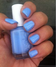 Spring Manicure love this color... Even on nails!