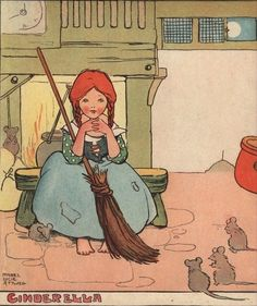 Mabel Lucie Attwell - Cinderella