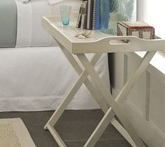 Does anyone know how i can get one?  It's sold out at Pottery Barn.   Lachlan Tray Bedside Table #potterybarn