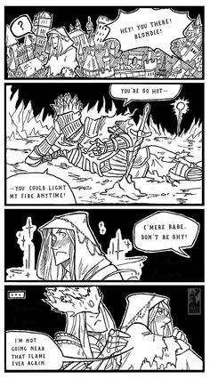 Why Lothric never linked the First Flame by Aventisz
