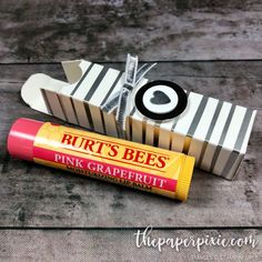 Lip Balm Gift Box with Video Tutorial
