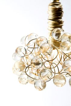 Gold And Bold Ceiling Pendant Light / by AyaandJohnLighting