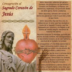 Spanish Prayers, Inspirational Prayers, Thank You God, Catholic Prayers, Jesus Christ, Religion, Banner, Imagines, Santa Maria