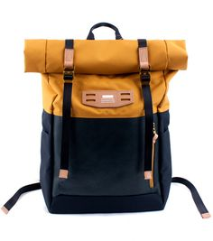 MASTER PIECE - Hedge Backpack in Yellow