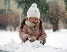 """Playing in the Snow"" brings out the child in all of us!"
