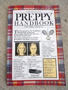 Preppy Handbook Quotes The Preppy Handbook by Lisa Birnbach