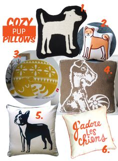 Pup pillows | House of Harvey