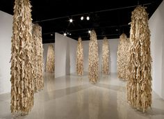 Wendy Maruyama The Tag Project, 2012, installation view, SDSU Art Gallery, Photo: Kevin Miyazaki