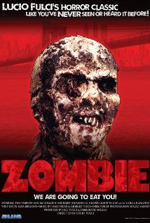 Zombie (1979) - Zombi 2 (original title) ||  (also known as Zombie, Island of the Living Dead, Zombie Island, Zombie Flesh Eaters and Woodoo).