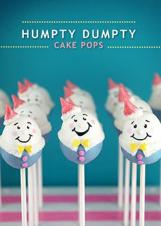 Humpty Dumpty Cake Pops