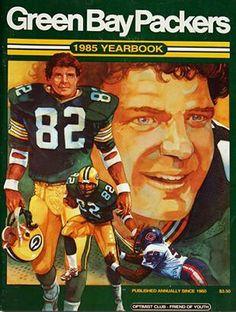 Paul Coffman - (1985 Packers Yearbook)