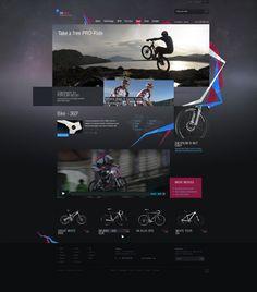 Web design inspiration repinned by www.BlickeDeeler.de