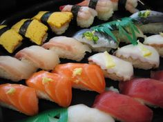 there's nothing like raw fish