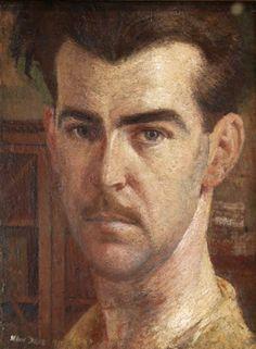 William Dobell (Australian, 1899-1970), Self portrait, 1932. Oil on wood panel, 35 x 27 cm.