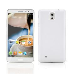 Scribble - 5.7 Inch Android 4.2 Smartphone (Quad Core 1.2GHz CPU, 720p, 8GB, Gold)