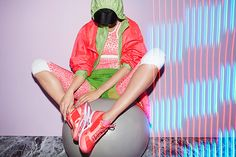 Stella McCartney & Adidas Inspire Us To At Least LOOK Athletic #refinery29  http://www.refinery29.com/stella-mccartney-adidas#slide-6  Photo: Courtesy of Adidas...