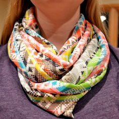 Infinity Scarf DIY sewing tutorial