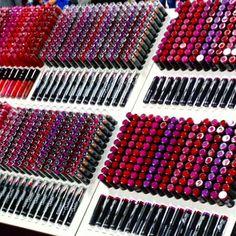 Hmmmm... Decisions, decisions, decisions #lipgloss #lipstick #lasvegas #beautyindustry #cosmoprof #convention #beautyindustry #convention #entrepreuner #beauty #p2b #passporttobeauty #passport2beauty #beauty #makeup