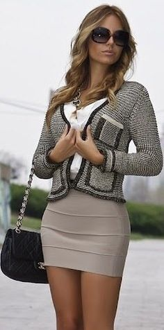Amazing Collections..wish my figure could wear tight skirts like that ! HotWomensClothes.com