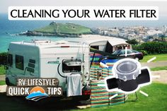 RV Quick Tip: Unclog your water pump filter - RV Lifestyle