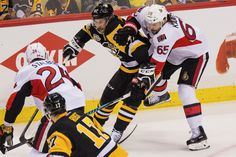 The Penguins were seething following Game 6 of the Eastern Conference final because of the beating Sidney Crosby absorbed against the Senators.