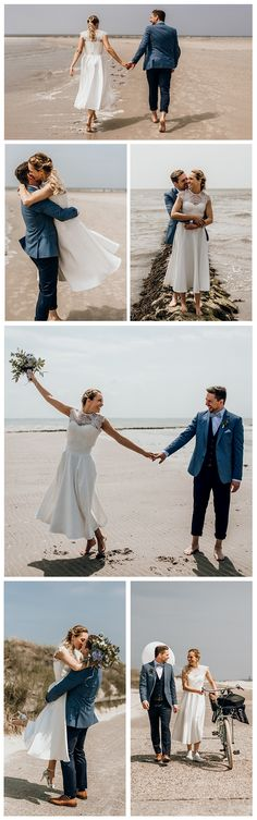 The Couple: Carolin & Patrick| The Photographer: Beloved Photography | The Location: Norderney Beach, Northern Germany | The Look: Itala Top, Darla Bodice & Jordan Skirt, Catherine Deane. See more of our beautiful real brides on our website. Catherine Deane, Our Wedding, Brides, Bodice, Germany, Website, Couples, Tops, Skirts