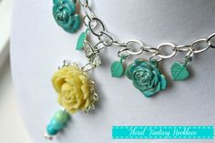Floral Fantasy Necklace with Martha Stewart Jewelry #MarthaJewelry #Michaels