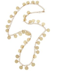 Kenneth Jay Lane Plated 34in Necklace is on Rue. Shop it now.