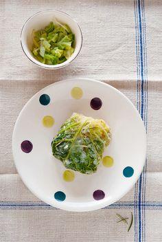 Fagottini di verza, ripieni di riso e verdure, ottimi come contorno oppure come primo piatto