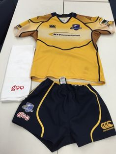 NTT Comラグビー部 @ShiningArcs  NTTレゾナントからgooのタオルを頂きました。いつもご支援ありがとうございます。次節のヤマハ戦は上位ステージ進出に向け大事な一戦になります。応援よろしくお願いします。 #shiningarcs #rugbyjp #goo_goods http://p.twipple.jp/V52vB https://twitter.com/ShiningArcs/status/519388057061957633