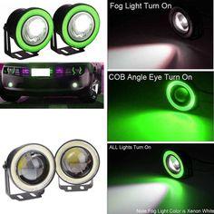 Frank 10pcs Durable 9w Cob Easy Led Eagle Eye Car Fog Light Drl Reverse Turn Light Kit Atv,rv,boat & Other Vehicle