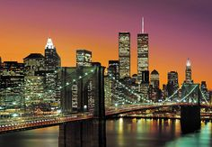 Fotobehang 00139 New York City