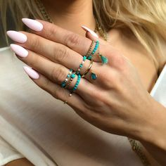 Cute Jewelry, Diy Jewelry, Beaded Jewelry, Jewelery, Handmade Jewelry, Fashion Jewelry, Jewelry Making, Beaded Bracelets, Diy Beaded Rings