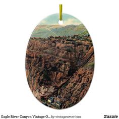 Eagle River Canyon Vintage Ornament