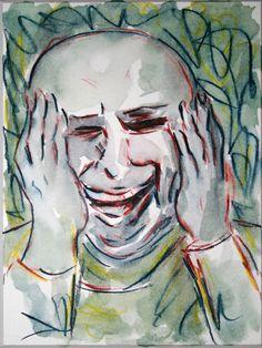 'Lachender 2' von funkyzoo bei artflakes.com als Poster oder Kunstdruck $15.68