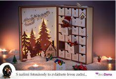 Adventní kalendář zpříjemní předvánoční čas i dospělým. Máme pro vás nápad, jak ho doslova vyšperkovat. Advent Calendar, 1, Holiday Decor, Home Decor, Decoration Home, Room Decor, Interior Decorating