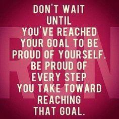 Reach for that goal!