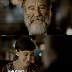 Robin Williams and Zelda Williams playing 3DS in the Nintendo' Spot. #Robin #Williams #Zelda #spot
