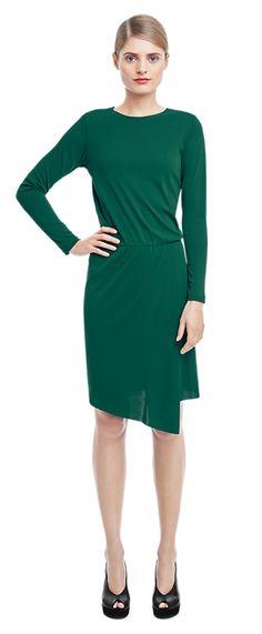 Assymetric Jersey Dress - Dresses - Woman - Filippa K
