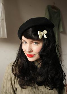 not sure about the beret for me-- but on this girl its cute