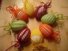 art deco easter eggs crochet free pattern hippity hoppity easter 39 s on its way pinterest. Black Bedroom Furniture Sets. Home Design Ideas